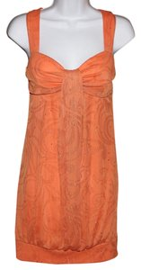 B. Darlin short dress Orange on Tradesy
