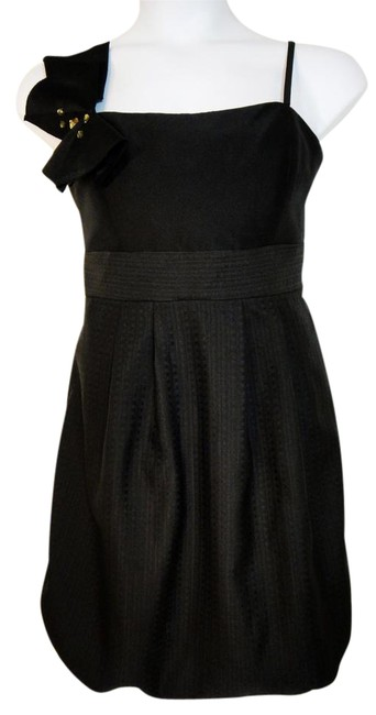 Max And Cleo Black Empire Waist Short Cocktail Dress Size 14 L