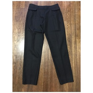 Saint Laurent Straight Pants Black