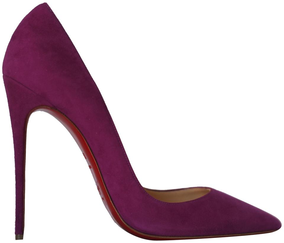 the best attitude 0199c 937f5 Christian Louboutin Purple New 39.5it So Kate Suede Pigalle 120 High Heel  Alti Red Sole Toe Pumps Size EU 39.5 (Approx. US 9.5) Regular (M, B)