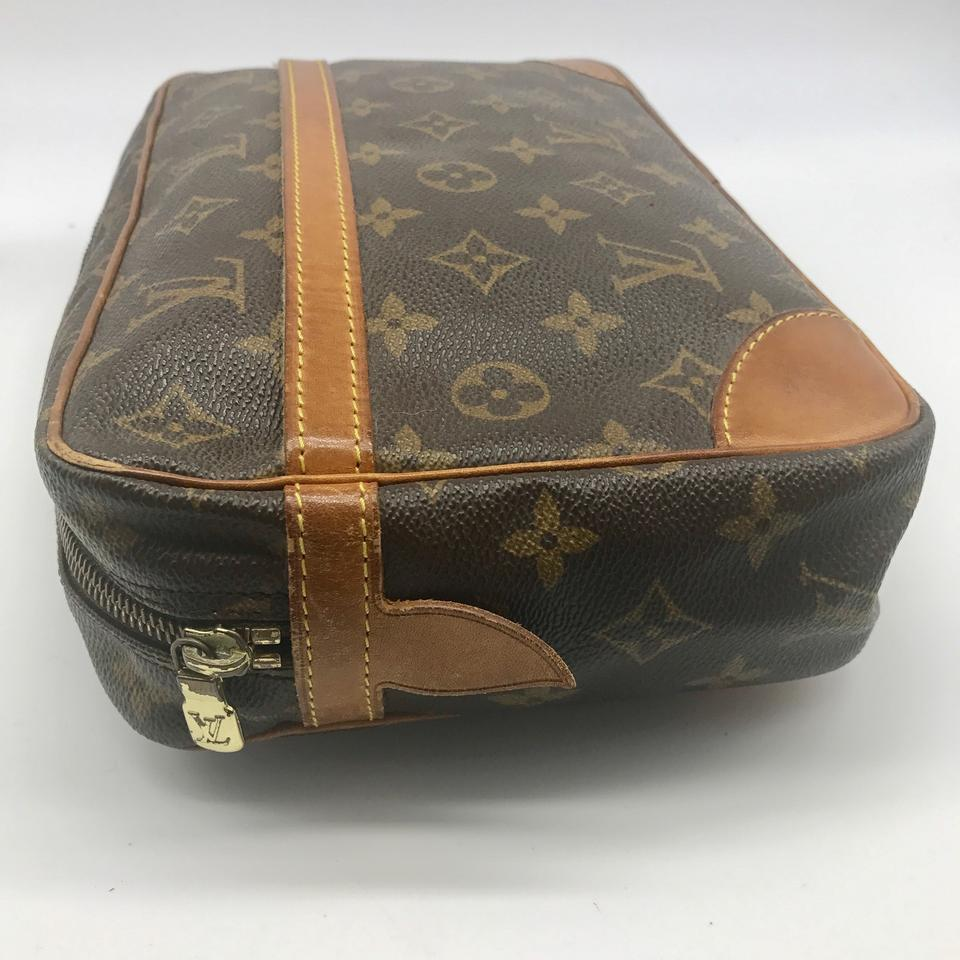 louis vuitton compiegne 28 monogram large cosmetic bag pouch 82 off retail. Black Bedroom Furniture Sets. Home Design Ideas