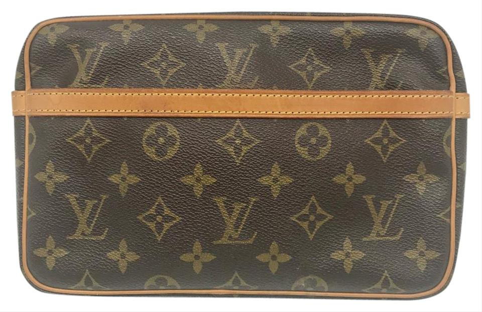 louis vuitton compiegne 23 monogram small pouch pochette 81 off retail. Black Bedroom Furniture Sets. Home Design Ideas