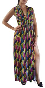 Baby Bella Maya Shift Plus-size Maxi Dress