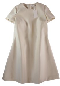 Co short dress Ivory Co-collection Sheath Structured on Tradesy