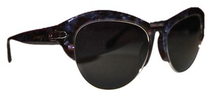Givenchy Givenchy SGV 881 Violet Tortoise Wayfarer Cat Eye Sunglasses New