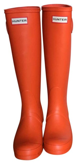 Item - Tent Red Tall Boots/Booties Size US 6 Regular (M, B)