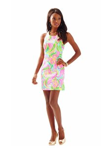 Lilly Pulitzer short dress multi so a peeling Grayes Racer-back Summer on Tradesy