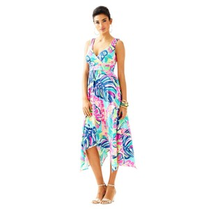 $125 OBO ** Free Shipping ** NWT Maxi Dress by Lilly Pulitzer