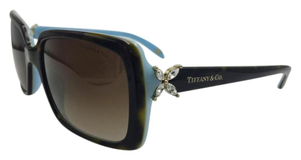 1ea47ae8248f Tiffany   Co. Crystal Flower Square Brown Gradient Tiffany   Co. Sunglasses  TF4047 Image ...