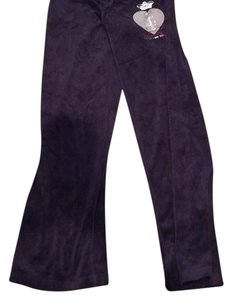 Juicy Couture Straight Pants purple