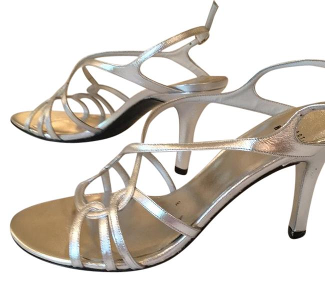 Item - Silver Hiturn Formal Shoes Size US 8 Narrow (Aa, N)