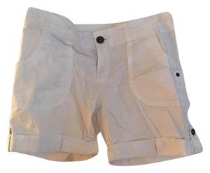 INC International Concepts Cuffed Shorts White