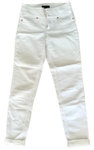 Fire Skinny Pants white