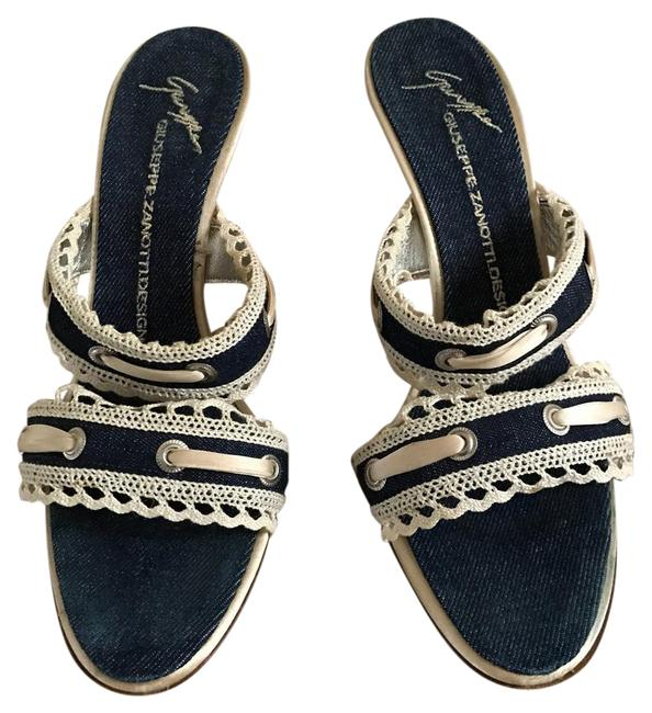 Item - Blue Jeans with Lace Vivino Formal Shoes Size US 7 Regular (M, B)