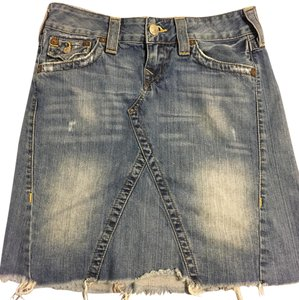 True Religion Skirt denim blue