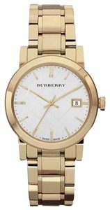 Burberry Women's Swiss Gold-Tone Stainless Steel Bracelet 34mm bu9103