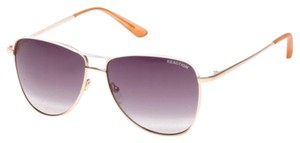 Kenneth Cole KENNETH COLE REACTION ROSE GOLD-TONE SUNGLASSES
