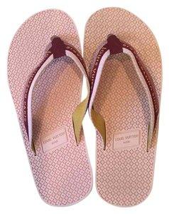 Louis Vuitton Pink/Red Sandals