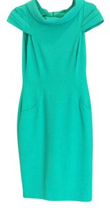 David Meister short dress emerald green on Tradesy