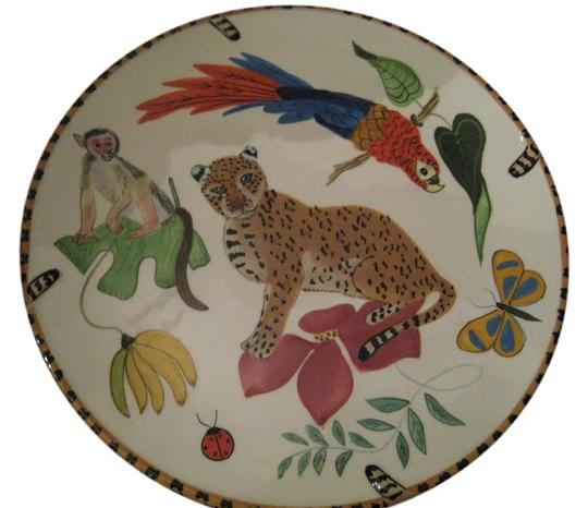 Lynn Chase Lynn Chase Jungle Jubilee Dinner Plate's (8) sold by Neiman Marcus