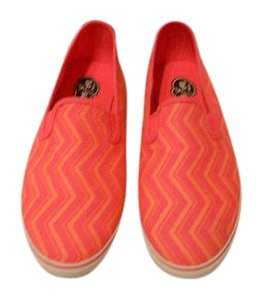 Sperry Fun Pattern Comfortable Pink Flats