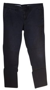 Anthropologie Straight Pants Navy
