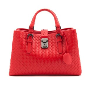 Bottega Veneta Satchel in VESSUVIO RED