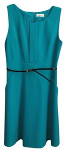 Calvin Klein Pockets Fit And Flare Cocktail Dress