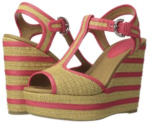 Coach Multicolor Wedges