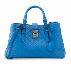 Bottega Veneta Satchel in BLUETTE