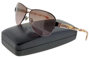 Ralph Lauren RA4095-403-14 Women's Burgundy Frame Brown Lens Sunglasses