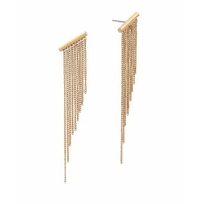 Michael Kors Michael Kors Modern Fringe Gold Fringe Statement Earrings MKJ5791
