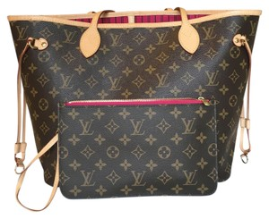 Louis Vuitton Tote in monogram with pivione lining