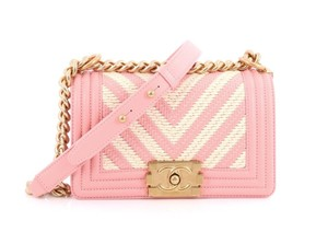 Chanel Le Boy Braided Limited Edition Cross Body Bag