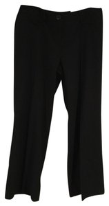 Cato Classic Petite Ankle Casual Flowers Trouser Pants Black