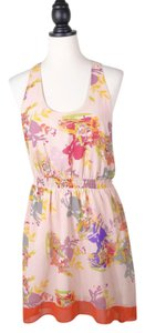 W118 by Walter Baker Chiffon Printed Floral Dress