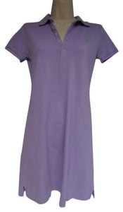 Ralph Lauren short dress lavender Polo Sport on Tradesy