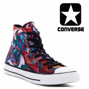 Converse Multi, Black, White Athletic