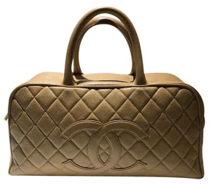 Chanel Caviar Leather Satchel
