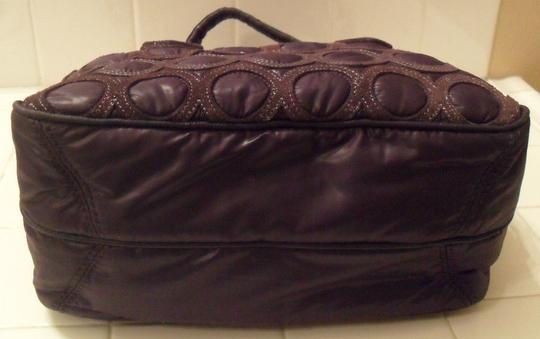 Juicy Couture Cate Quilted Nylon Leather Handbag Cross Body Bag