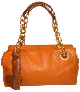 Juicy Couture Refurbished Euc Leather Baguette