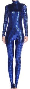hausofgiovanni Sizes Suit Fashion Catwalk Compression Royal Bless Blue Leggings