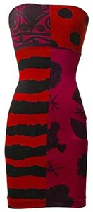 Christian Lacroix short dress Pink Red on Tradesy