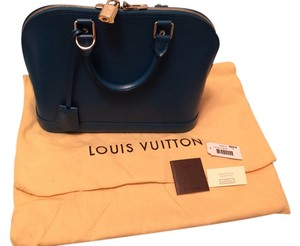 Louis Vuitton Satchel in Cyan