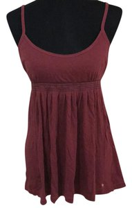 Abercrombie & Fitch Top maroon