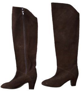 Suede brown boots Brown Boots