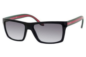 Gucci NEW Gucci GG 1013/S Black Logo Stripe Mens Sunglasses