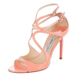 Jimmy Choo Peach/Coral Sandals