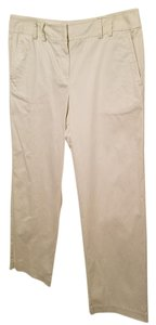 Liz Claiborne Polished Lycra Straight Pants White