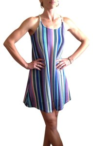 Anama short dress multicolor Summer Colorful Racer-back on Tradesy